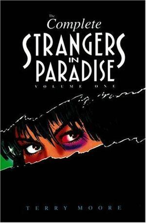 """""""Complete Strangers in Paradise (Volume 1)"""" av Terry Moore"""