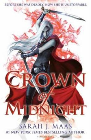 """""""Crown of midnight"""" av Sarah J. Maas"""