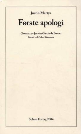 """""""Første apologi"""" av Justin Martyr"""
