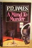 """A Mind to Murder"" av PD James"