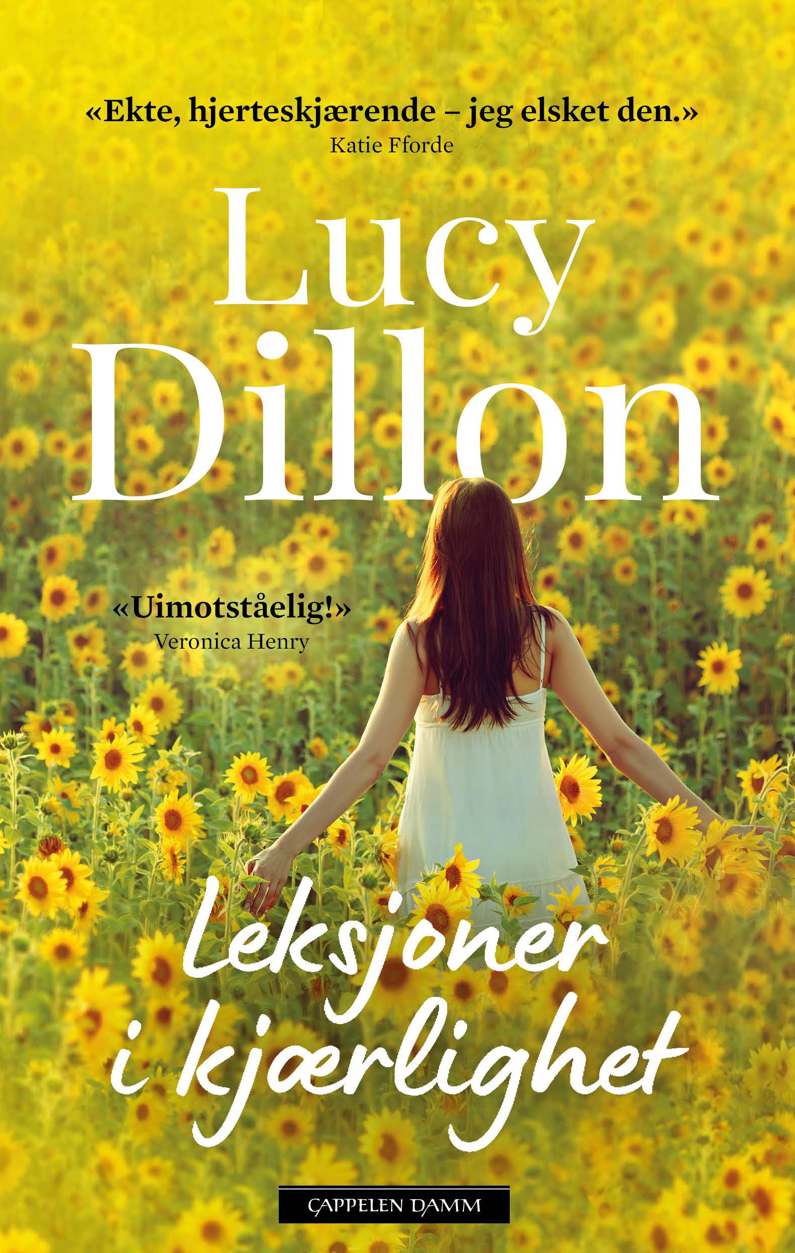 """""""Leksjoner i kjærlighet"""" av Lucy Dillon"""