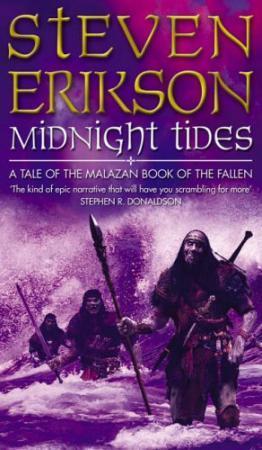 """""""Midnight tides"""" av Steven Erikson"""