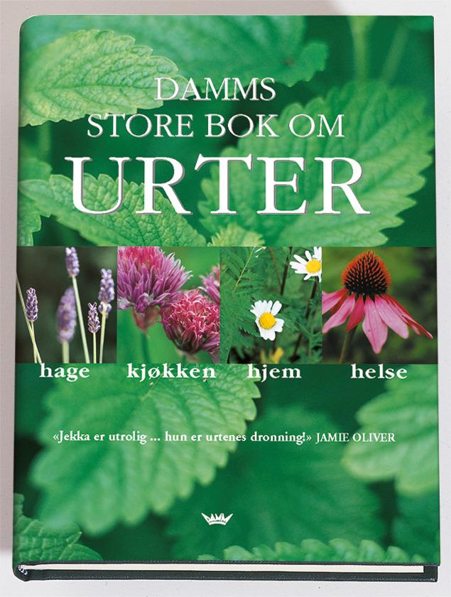 """""""Damms store bok om urter - hage, kjøkken, hjem, helse"""" av Jekka McVicar"""