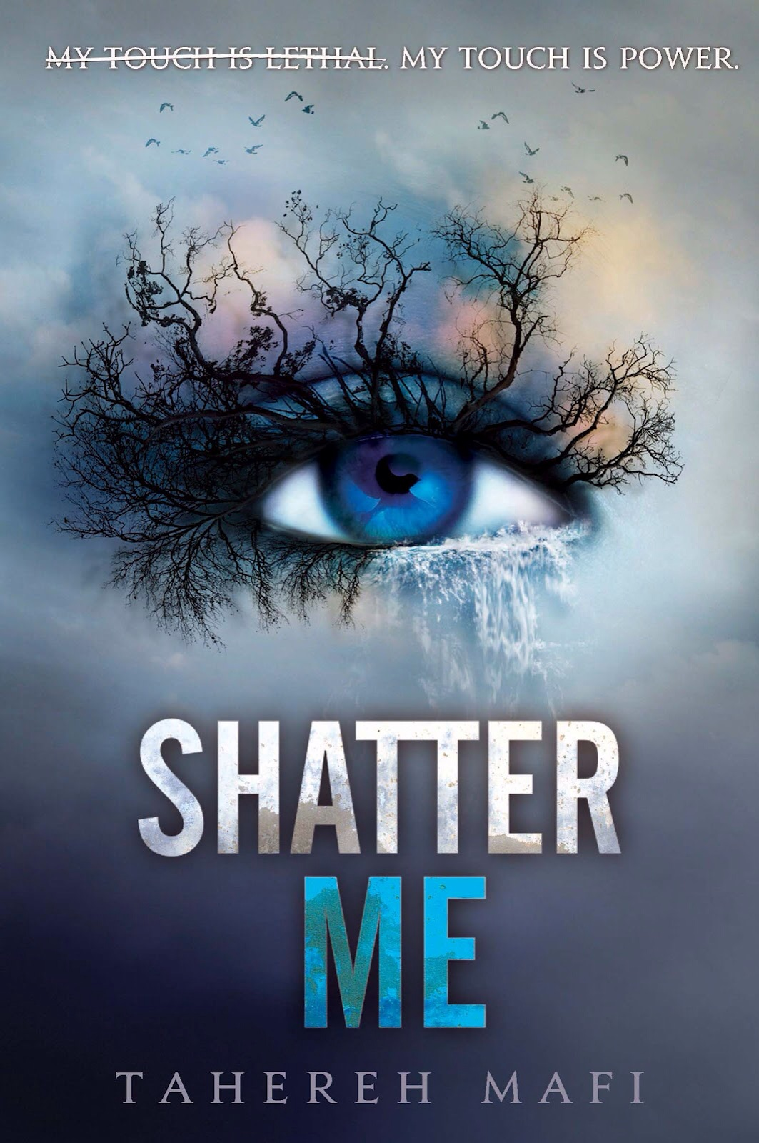 """""""Shatter Me"""" av Tahereh Mafi"""