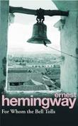 """""""For whom the bell tolls"""" av Ernest Hemingway"""