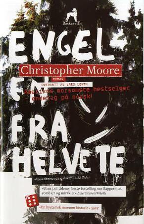 """""""Engelen fra helvete - roman"""" av Christopher G. Moore"""