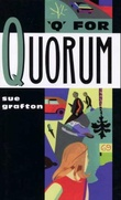 """Q for Quorum"" av Sue Grafton"