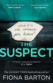 """The suspect"" av Fiona Barton"