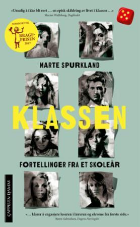 """""""Klassen - fortellinger fra et skoleår"""" av Marte Spurkland"""