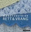 """""""Mønsterstrikk - rett & vrang"""" av Sys Fredens"""
