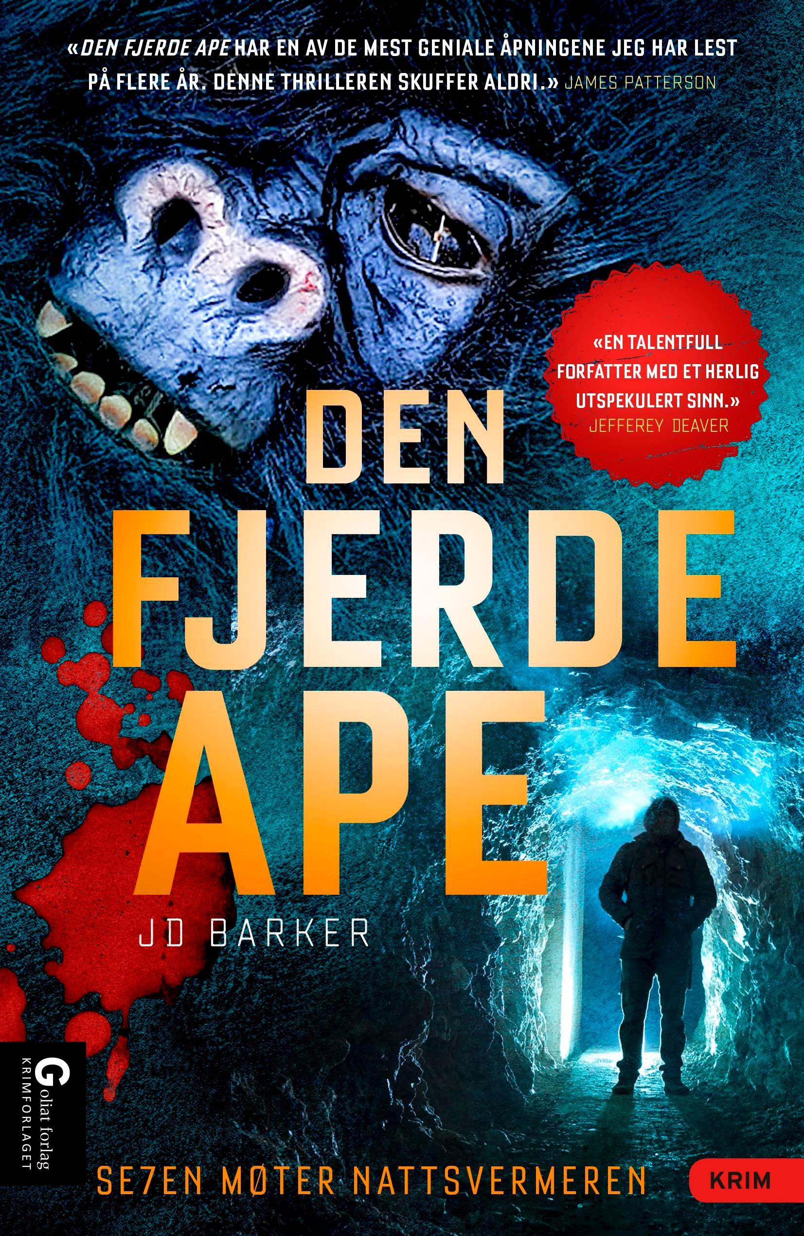 """""""Den fjerde ape"""" av J.D. Barker"""