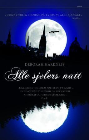 """""""Alle sjelers natt"""" av Deborah Harkness"""