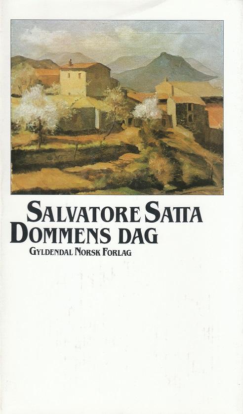 """""""Dommens dag"""" av Salvatore Satta"""
