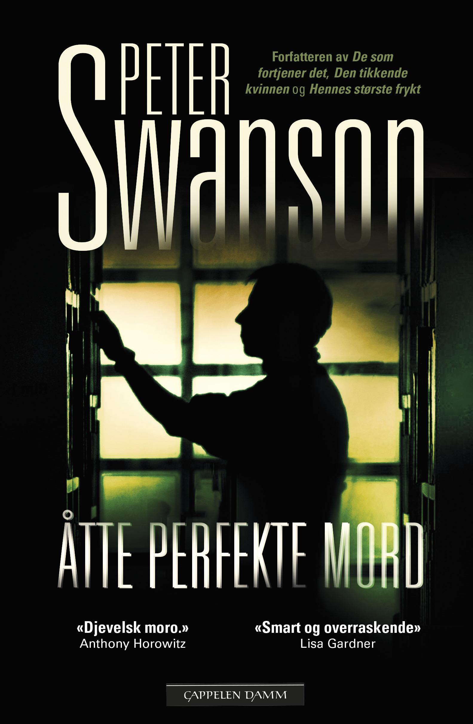 """""""Åtte perfekte mord"""" av Peter Swanson"""
