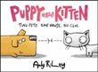 """Puppy versus Kitten - two pets, one house, no clue"" av Andy Riley"
