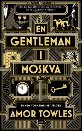 """""""En gentleman i Moskva"""" av Amor Towles"""