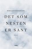 """""""Det som nesten er sant - roman"""" av Bergljot Kaslegard"""