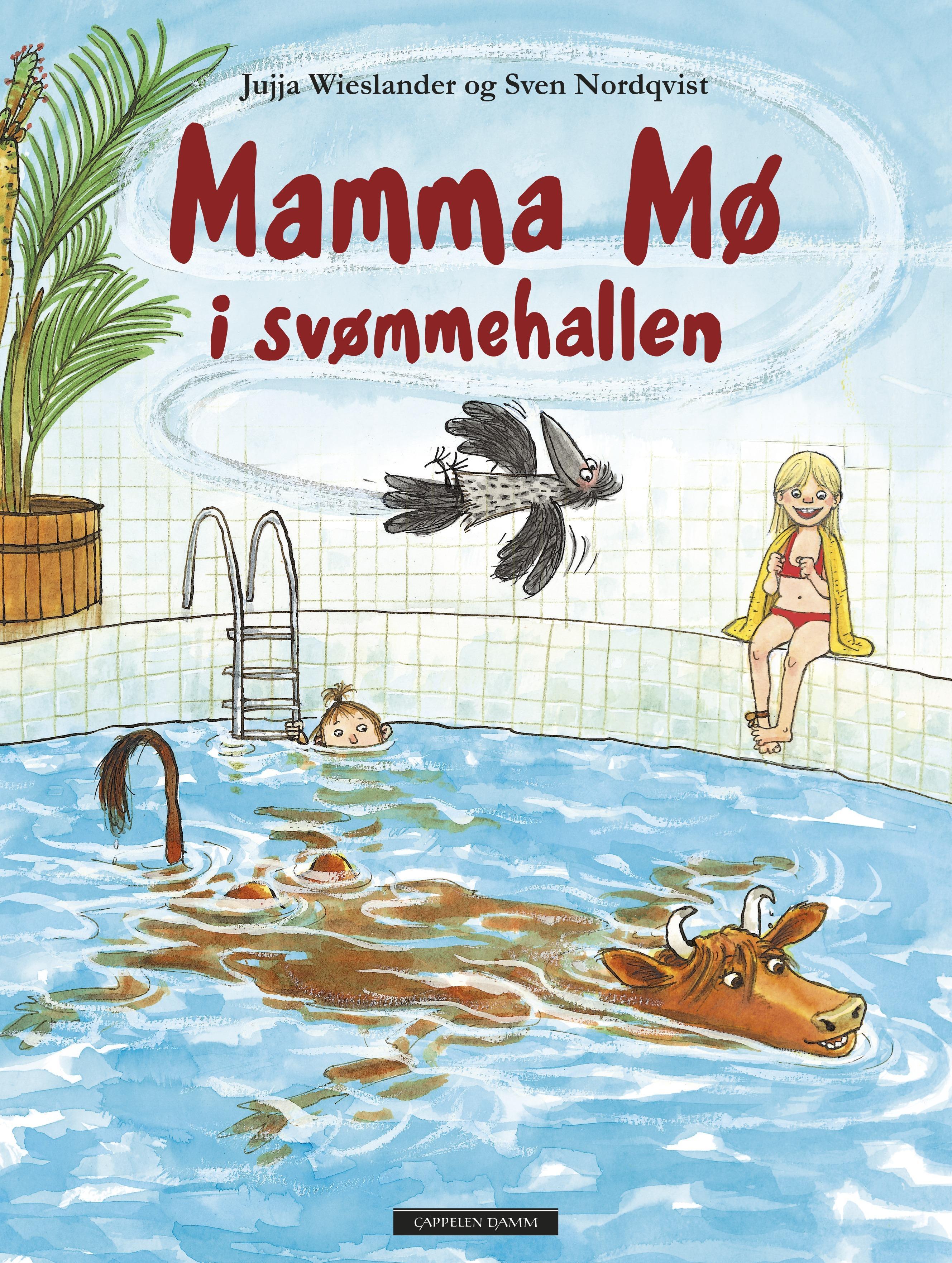 """""""Mamma Mø i svømmehallen"""" av Jujja Wieslander"""