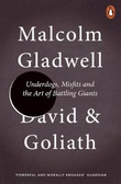 """""""David and Goliath - underdogs, misfits, and the art of battling giants"""" av Malcolm Gladwell"""