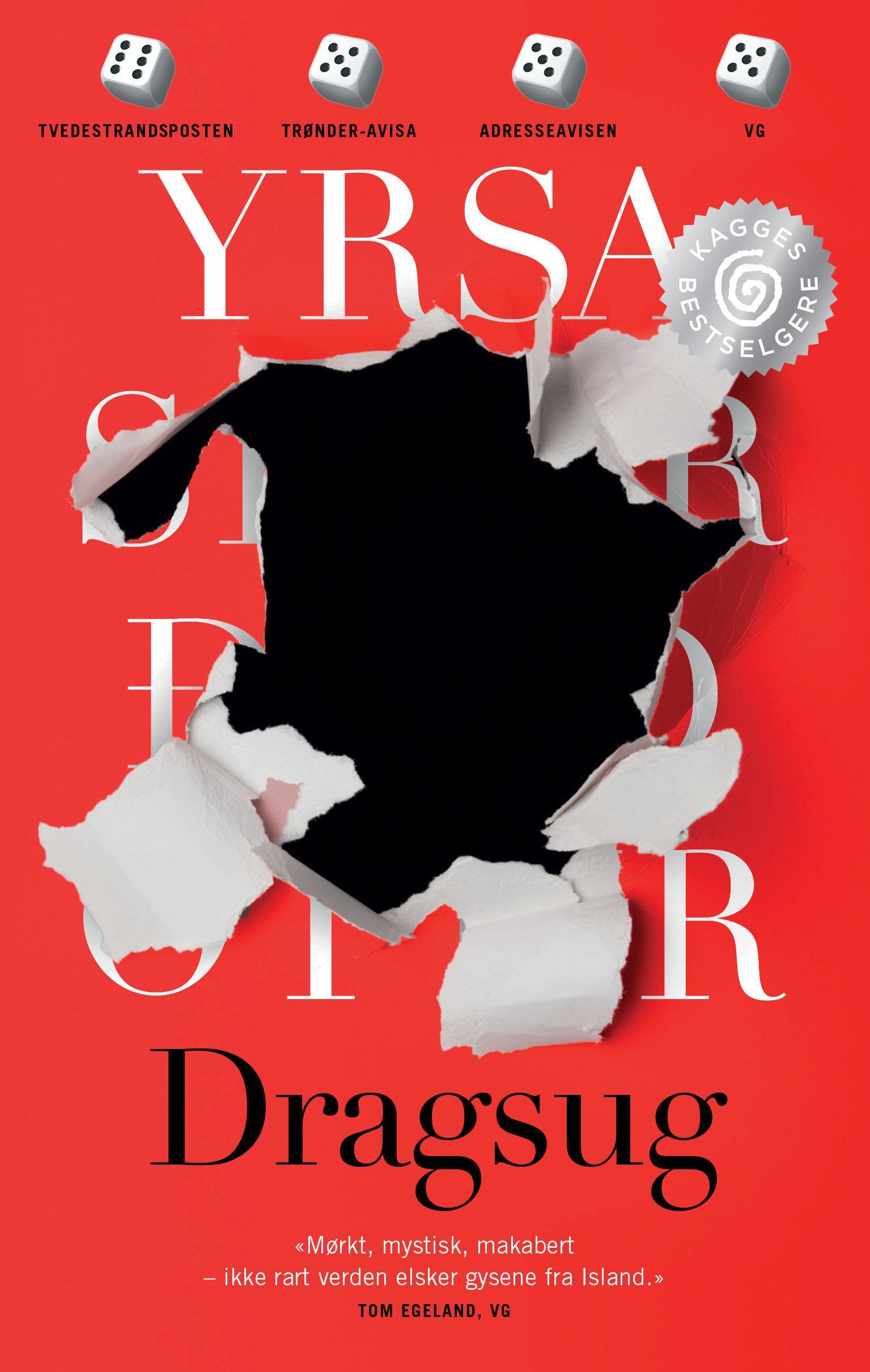 """""""Dragsug - kriminalroman"""" av Yrsa Sigurðardóttir"""