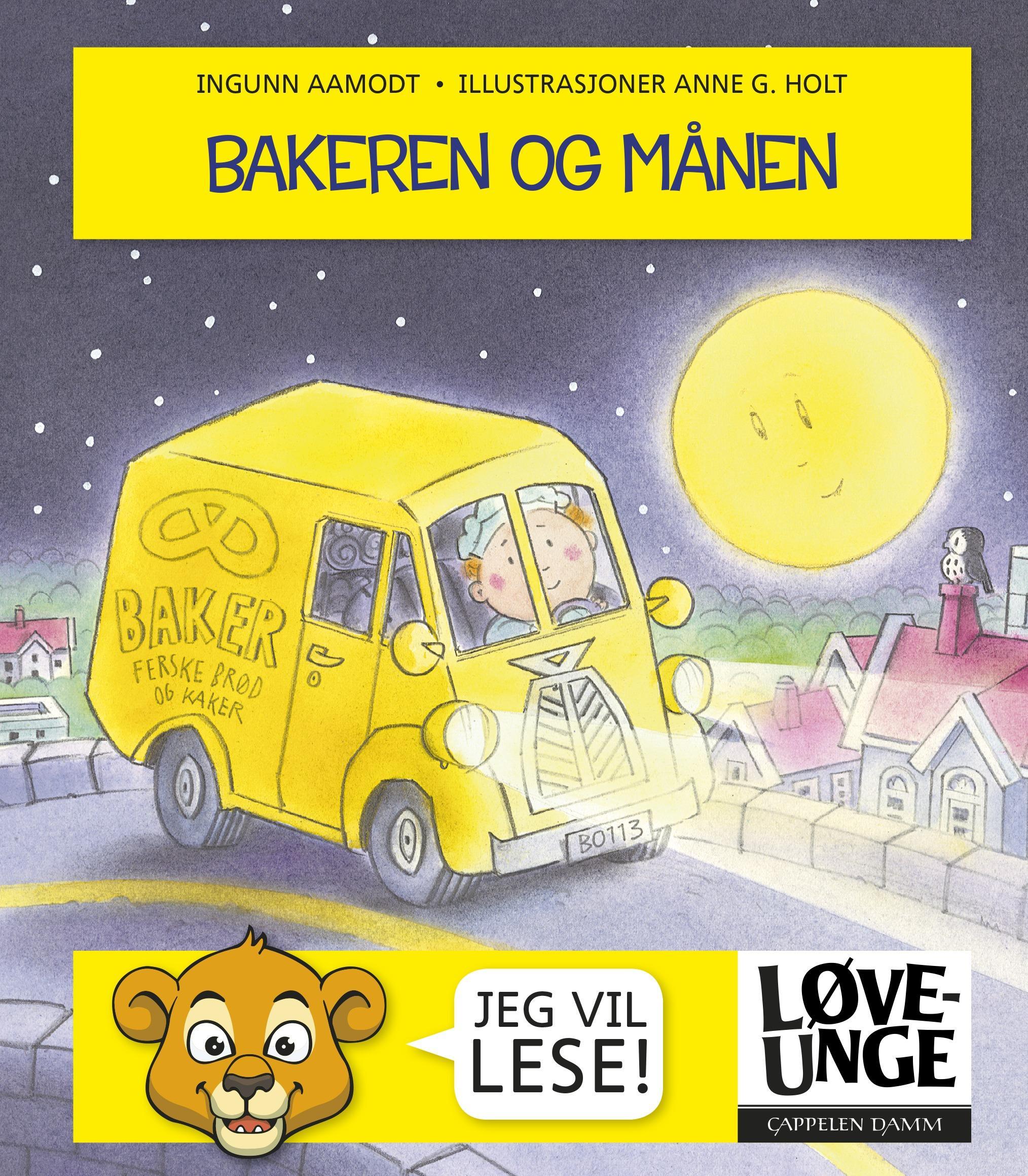 """""""Bakeren og månen"""" av Ingunn Aamodt"""
