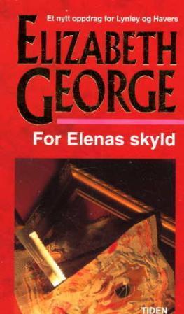 """""""For Elenas skyld"""" av Elizabeth George"""