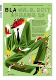 """BLA - Bokvennen litterær avis. Nr. 3 2017"" av Gabriel Michael Vosgraff Moro"