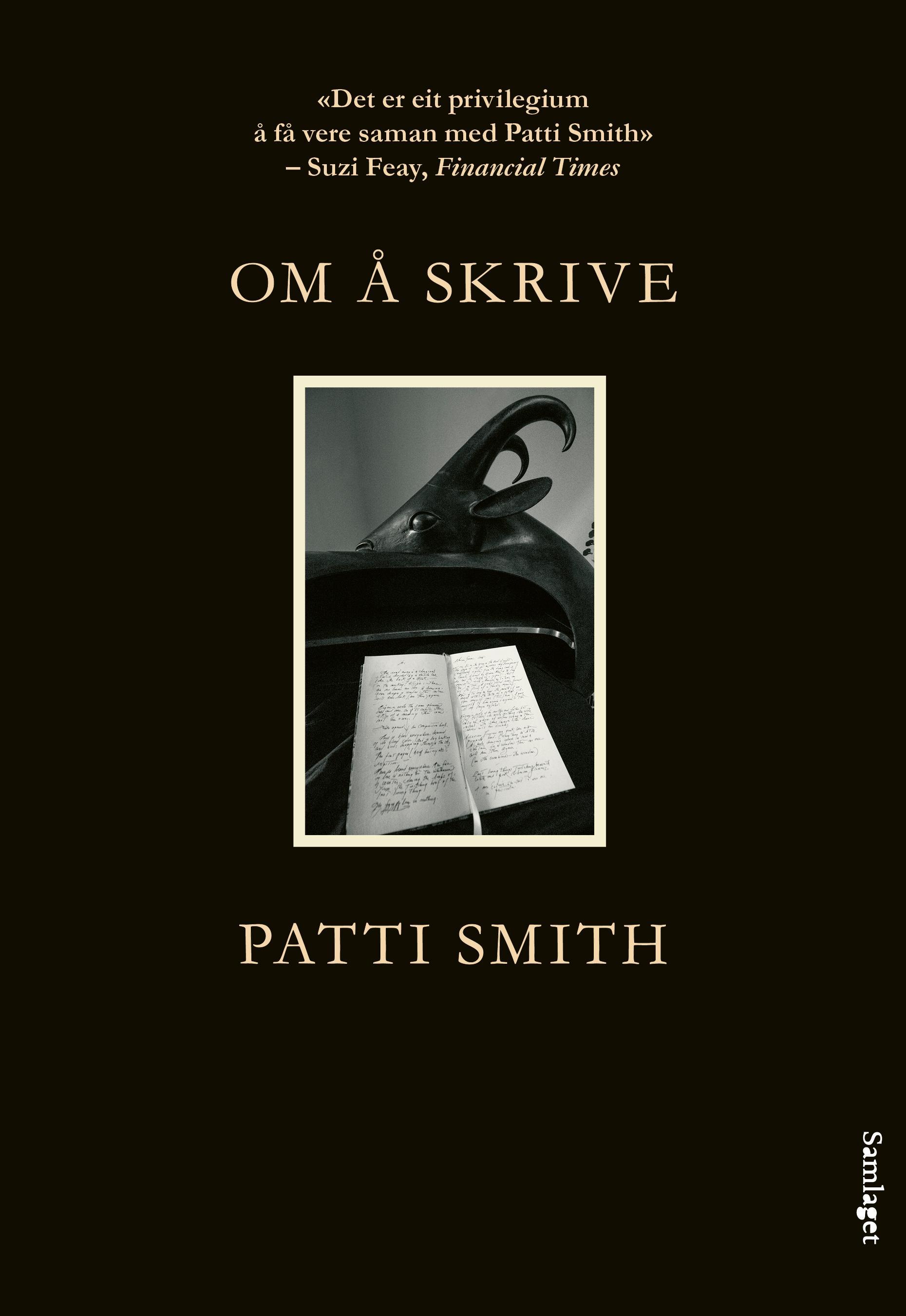 """""""Om å skrive"""" av Patti Smith"""