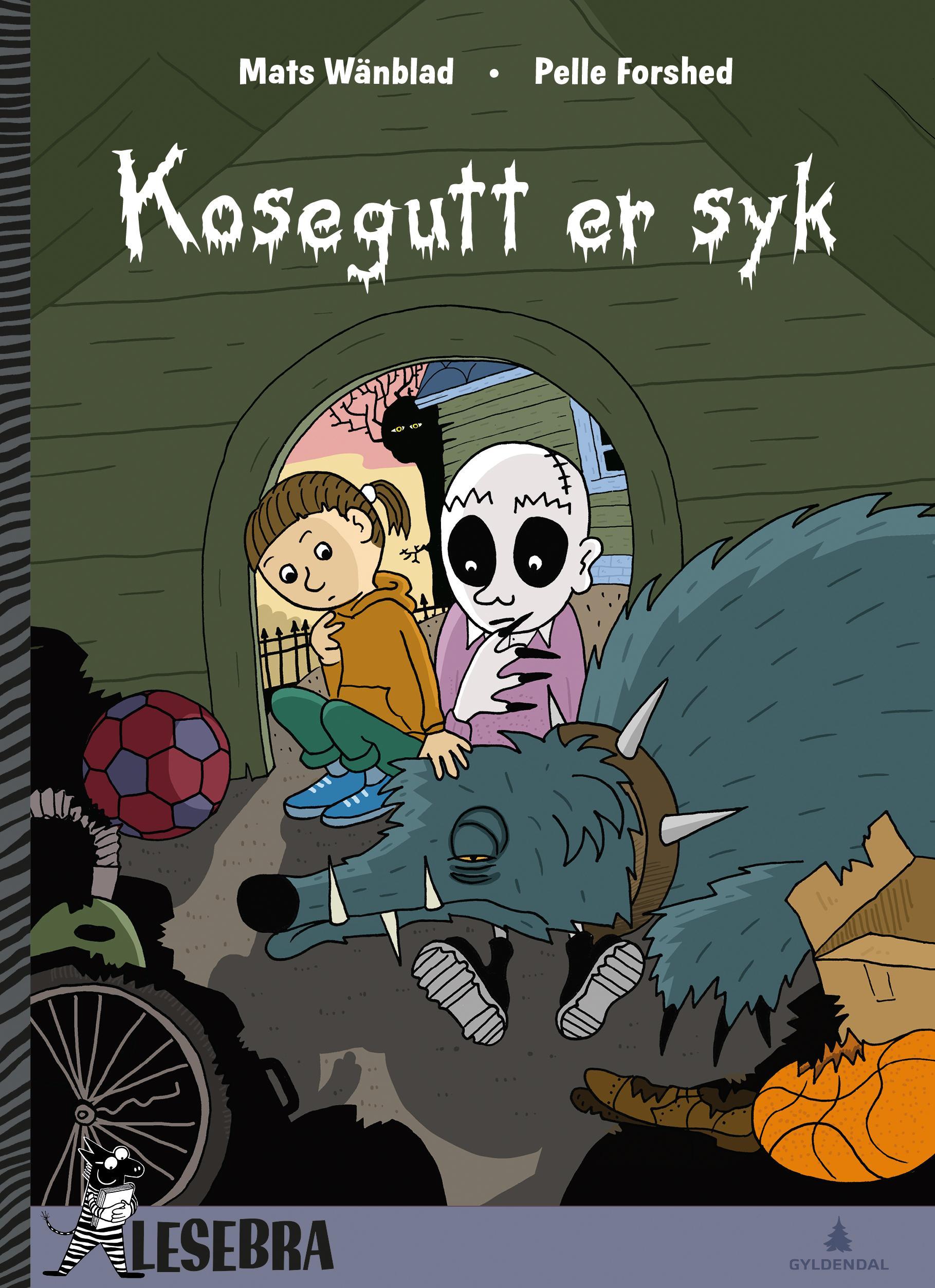 """""""Kosegutt er syk"""" av Mats Wänblad"""