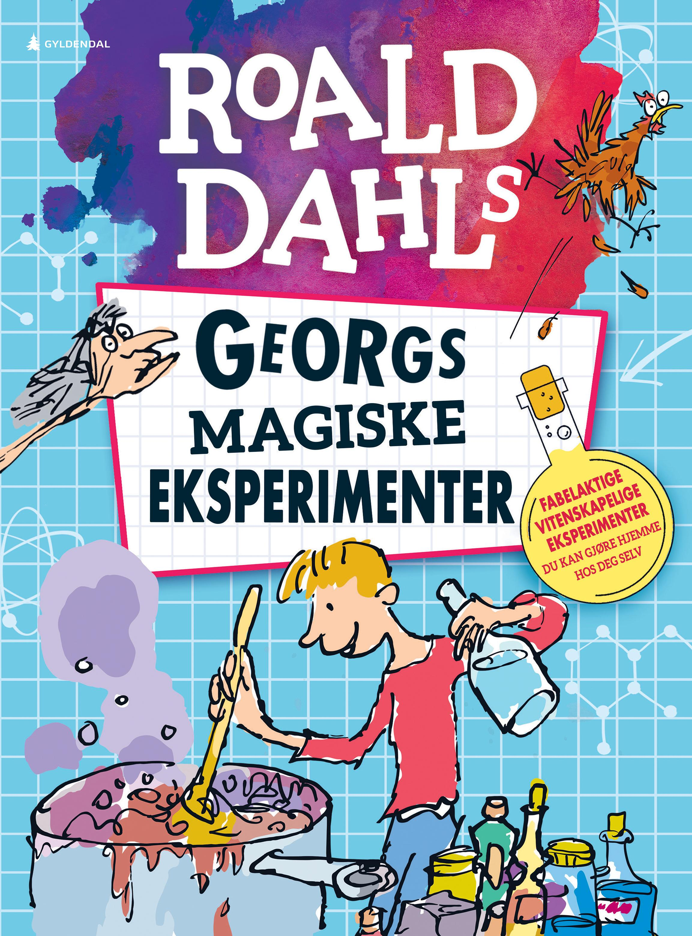 """Roald Dahls Georgs magiske eksperimenter"" av Barry Hutchinson"