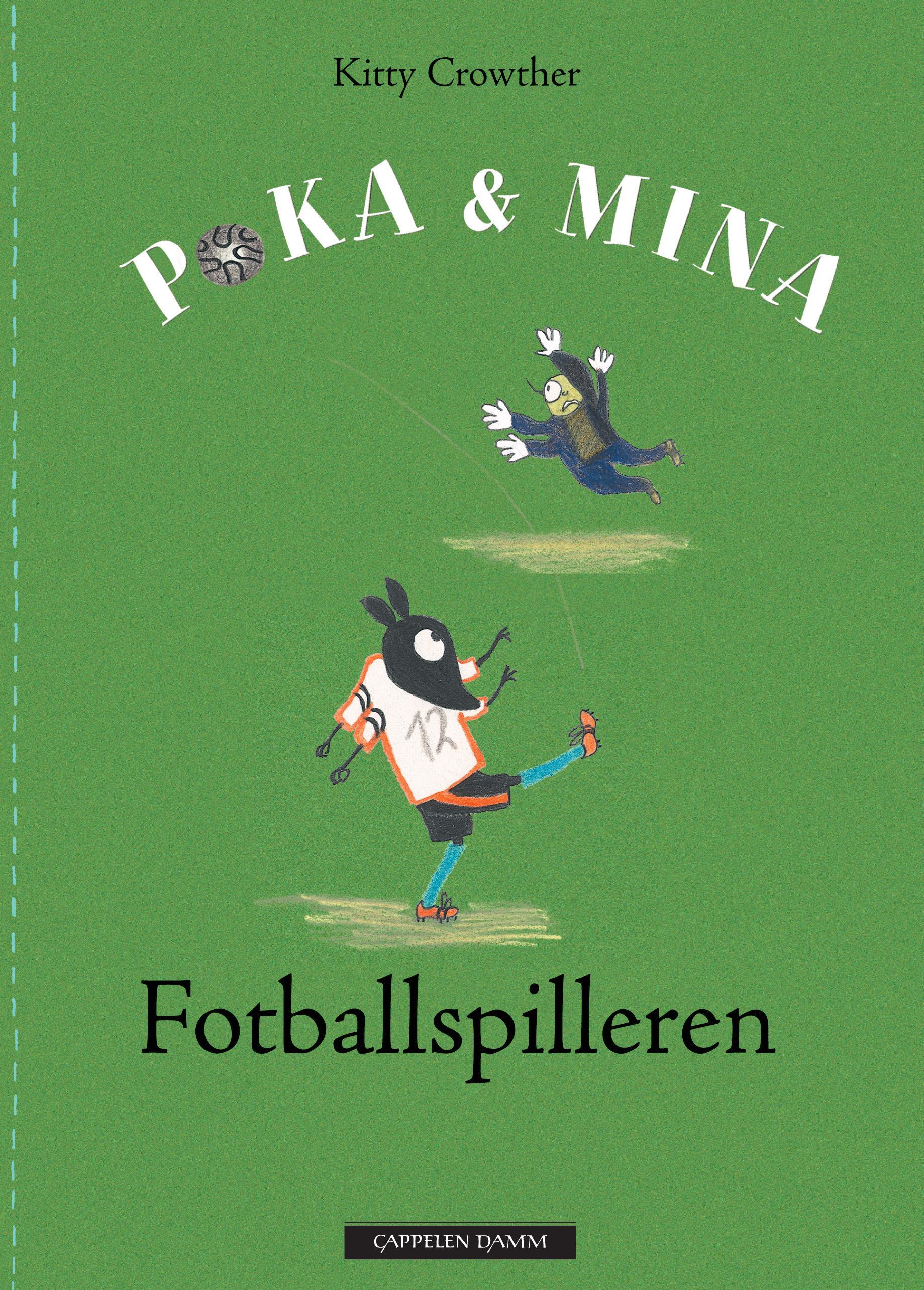 """""""Fotballspilleren"""" av Kitty Crowther"""