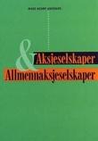 """""""Aksjeselskaper og allmennaksjeselskaper"""" av Mads Henry Andenæs"""