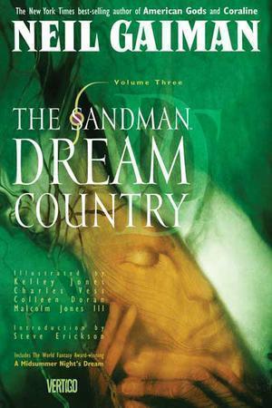 """""""The Sandman Vol. 3 - Dream Country"""" av Neil Gaiman"""
