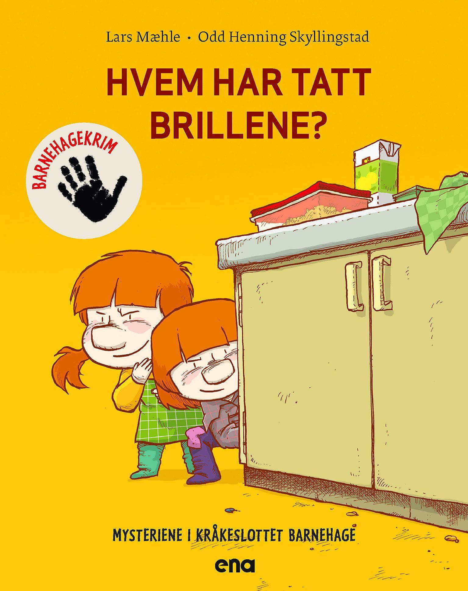 """""""Hvem har tatt brillene?"""" av Lars Mæhle"""