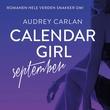"""""""Calendar girl - september"""" av Audrey Carlan"""