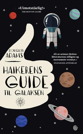 """""""Haikerens guide til galaksen"""" av Douglas Adams"""