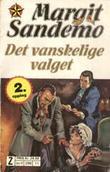 """""""Det vanskelige valget"""" av Margit Sandemo"""