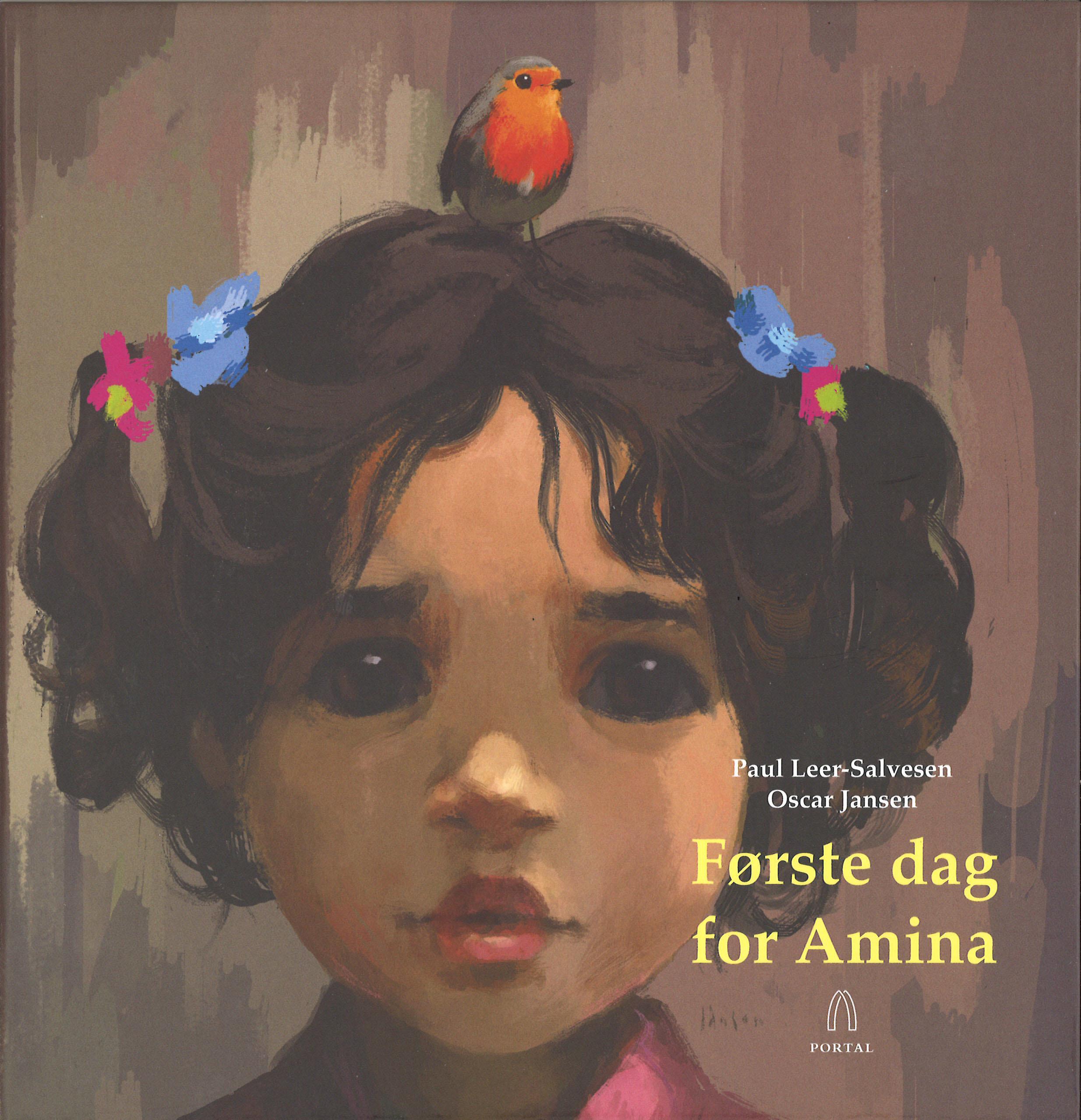 """""""Første dag for Amina"""" av Paul Leer-Salvesen"""