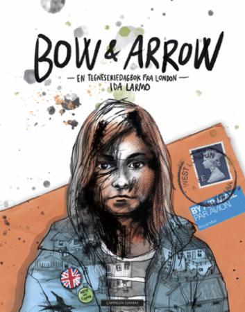 """""""Bow & arrow - en tegneseriedagbok fra London"""" av Ida Larmo"""