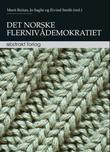 """""""Det norske flernivådemokratiet"""" av Marit Reitan"""