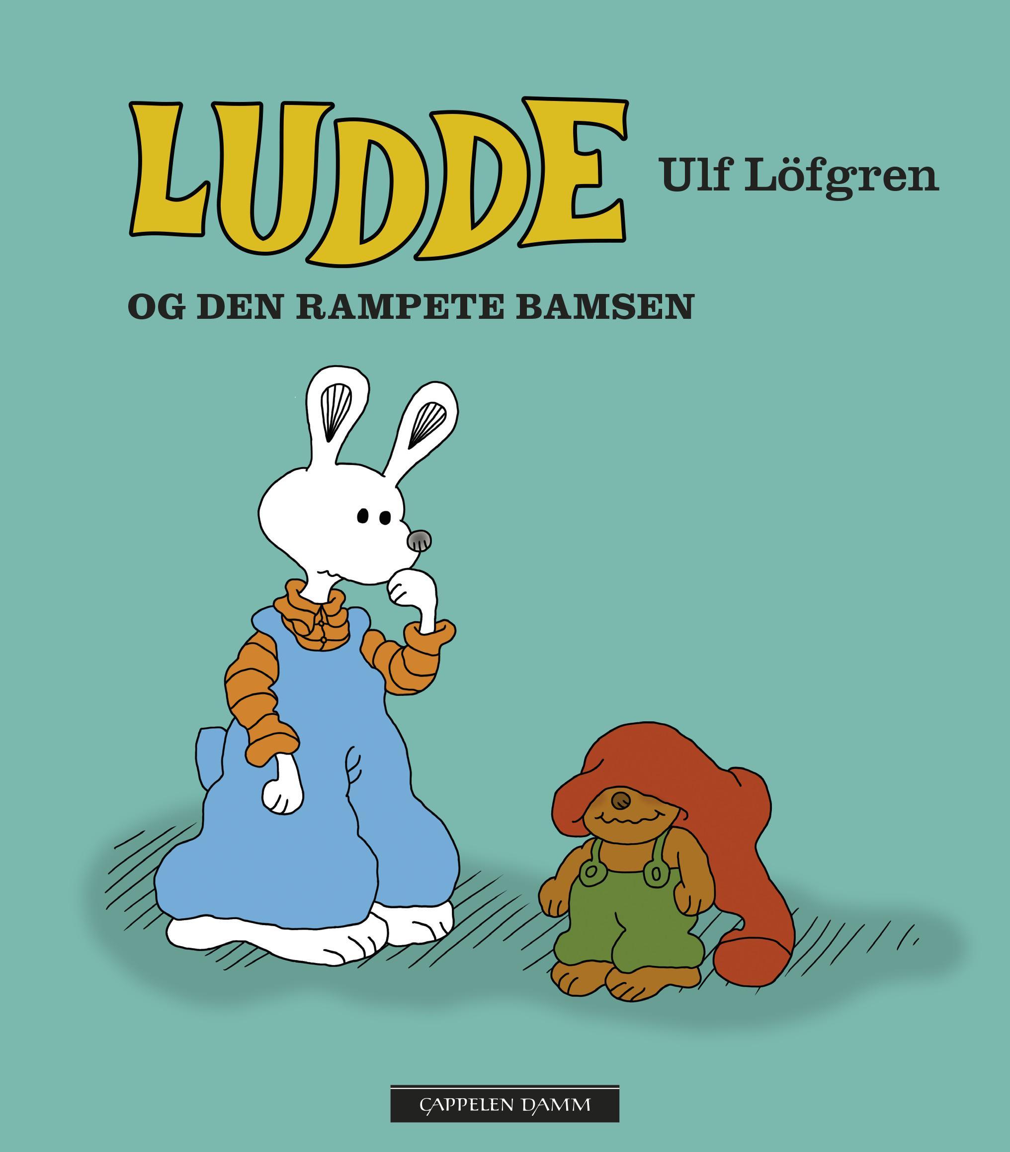 """""""Ludde og den rampete bamsen"""" av Ulf Löfgren"""