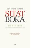 """""""Den store norske sitatboka"""" av Astrid Skår"""
