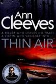 """""""Thin air - Shetland quartet book 6"""" av Ann Cleeves"""
