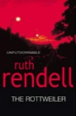 """""""The rottweiler"""" av Ruth Rendell"""