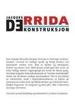"""""""Dekonstruksjon - klassiske tekster i utvalg"""" av Jacques Derrida"""