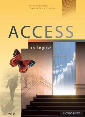 """Access to English - engelsk vg1 studieforberedende program"" av Richard Burgess"