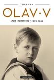 """""""Olav V - den fremmede"""" av Tore Rem"""