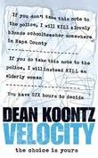 """""""Velocity"""" av Dean Koontz"""
