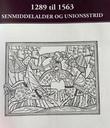 """""""1289 til 1563 - senmiddelalder og unionsstrid"""" av Tor Einar Fagerland"""