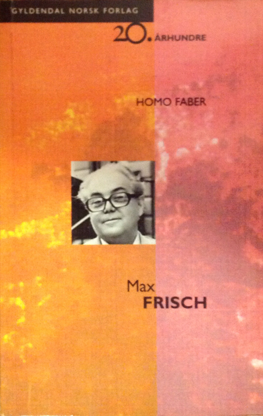 """""""Homo Faber"""" av Max Frisch"""